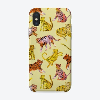 Tigers And Leopards Savannah Phone Case