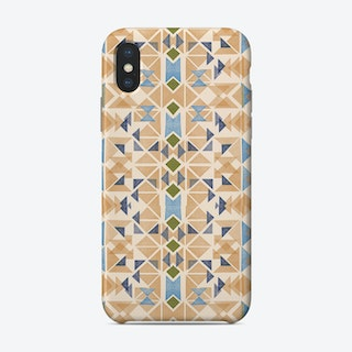 Boho Nomadic Tribal Orange Phone Case