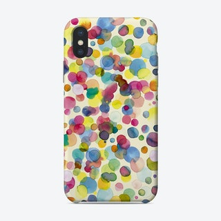 Watercolor Colorful Drops Phone Case