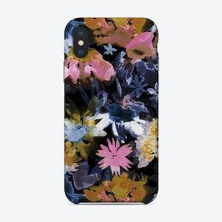 Watercolor Spring Floral Memories Black Phone Case