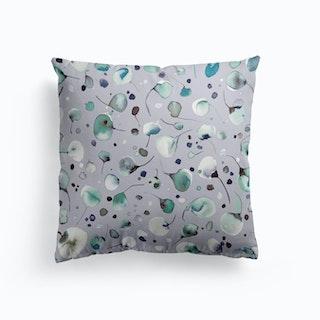 Flying Seeds Ice Winter Cushion