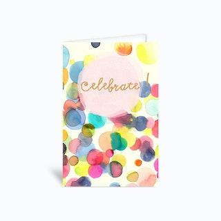 Celebrate! Confetti Greetings Card