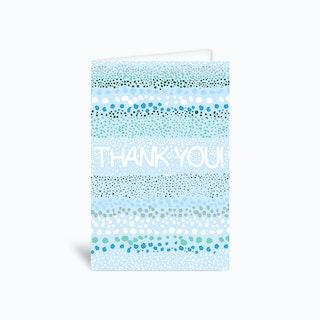 Thank You Mini Dots Greetings Card