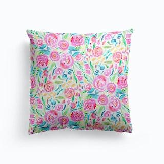 Spring Days Pink Cushion