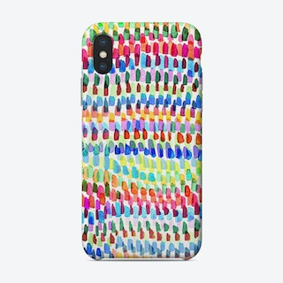 Artsy Strokes Stripes Colorful Phone Case