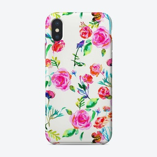 Roses Bouquet Pink Phone Case