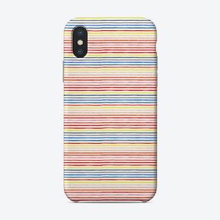 Marker Colorful Stripes Phone Case