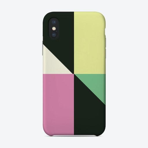Irregular Modern Triangles Phone Case