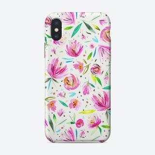 Peonies Pink Phone Case