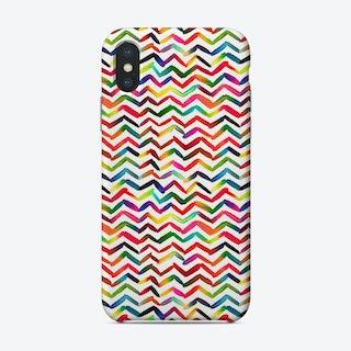 Chevron Stripes Multicolored Phone Case