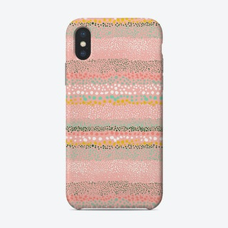 Little Textured Dots Pink Phone Case