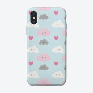 Happy Clouds Phone Case