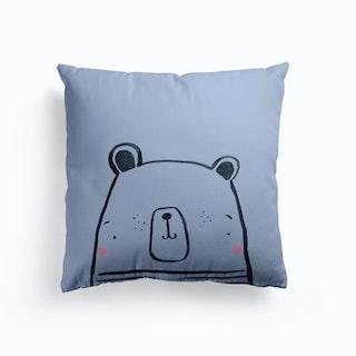 Inky Polar Bear Cushion