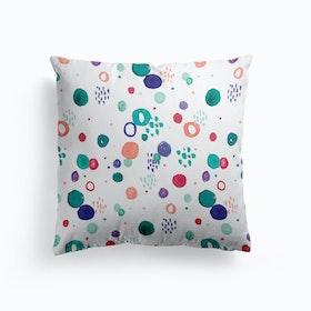 Painty Dots Cushion