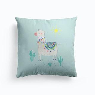 Sunshine Llama Cushion