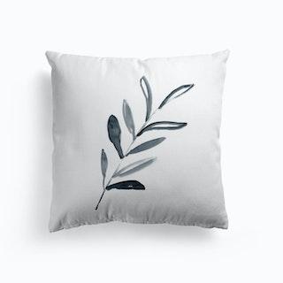 Inky Sprig Foliage Cushion