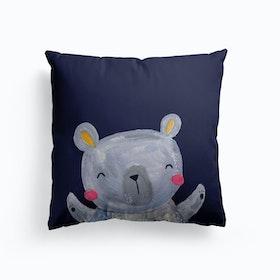 Painty Bear Large Character Cushion