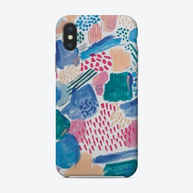 Abstract Mark Making Phone Case Phone Case