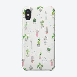 Houseplant Pattern Phone Case Phone Case