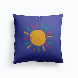 Sun Canvas Cushion