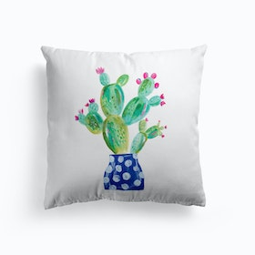 Painted Prickly Pear Cushion