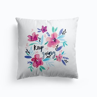 Keep Going Cushion