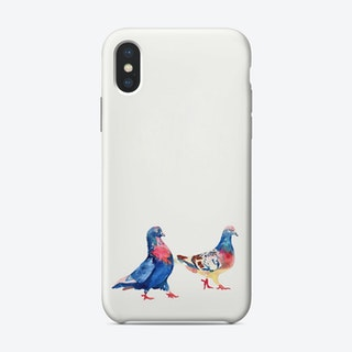 Pigeons 1 Phone Case
