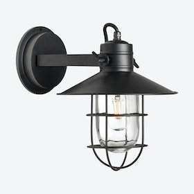 HARBOUR Wall Light in Pewter