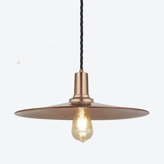 FLAT Pendant Light in Copper