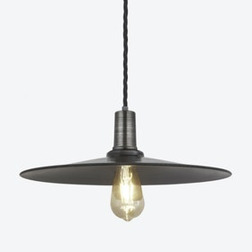 FLAT Pendant Light in Pewter