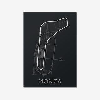 Full -Throttle Formula 1 – Monza Print