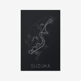 The Legendary 8 – Suzuka Circuit Print