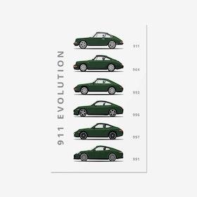 Porsche 911 - Car Print