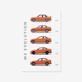BMW M3 - Car Print
