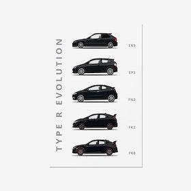 Honda Civic Type-R - Car Print