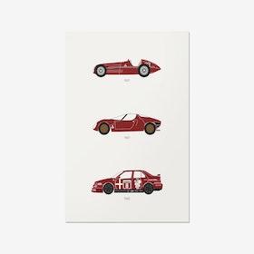 European Royalty - Alfa Romeo Print