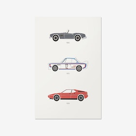 Truly Ultimate Driving – BMW Print