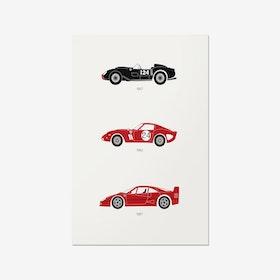 A Purebred Legacy – Ferrari Print