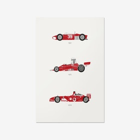 There is Only One Formula – Ferrari F1 Print