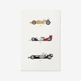 Yield the Track - McLaren Print