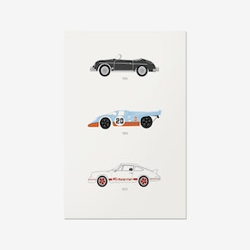 A Thoroughbred Drive - Porsche Print