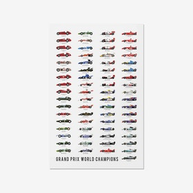 F1 World Champion Print