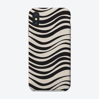 Tides Black Phone Case