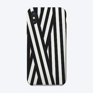 Ribbon Black Phone Case