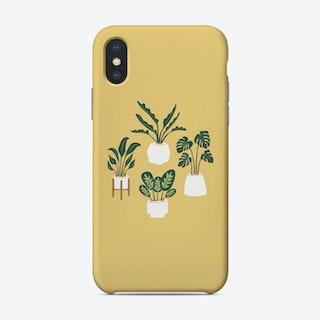 Indoor Jungle Yellow Phone Case