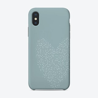 Full Of Love Blue Phone Case
