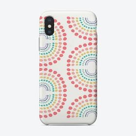 Rainbow Row Phone Case