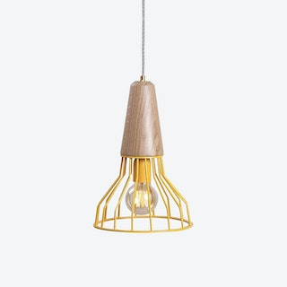 MILKO Pendant Lightp in Yellow