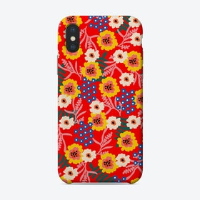 Many Flowers Phone Case