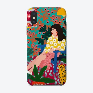 Waiting Girl Phone Case